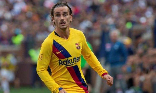 Antoine Griezmann sous le maillot du FC Barcelone