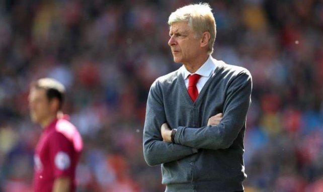 Arsène Wenger lors du match entre Huddersfield et Arsenal.