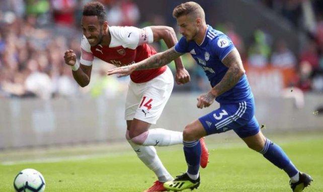 Aubameyang et Arsenal se sont arrachés pour vaincre Cardiff City !