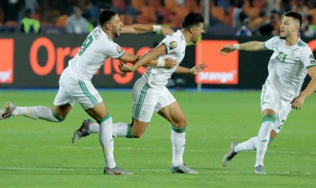 Baghdad Bounedjah a marqué le seul but de la rencontre dès la 2e minute.