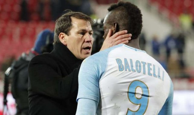 Balotelli heureux d'évoluer sous les ordres de Rudi Garcia