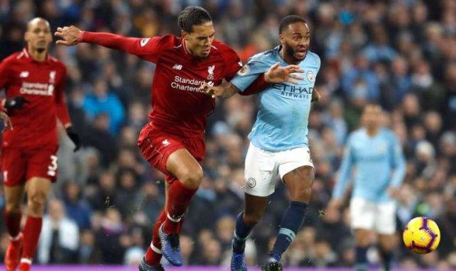 C'est la lutte acharnée entre Liverpool et Manchester City