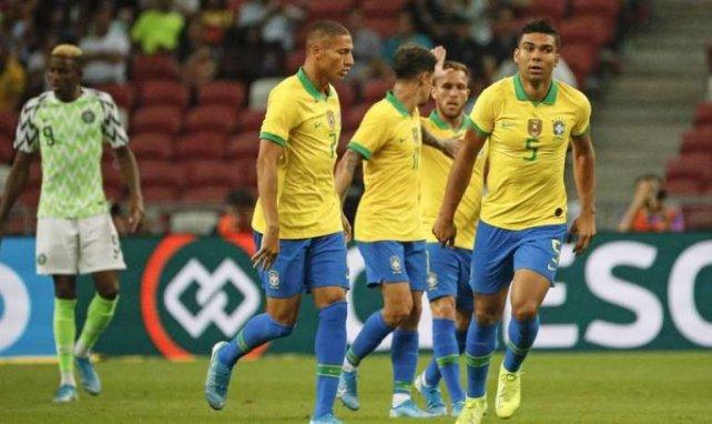 Casemiro et le Brésil ont fait match nul contre le Nigeria