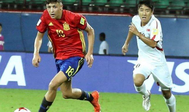 César Gelabert a remporté l'Euro 2017 avec les U17 de l'Espagne
