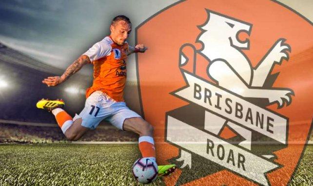Cette saison, Éric Bauthéac cartonne avec le Brisbane Roar