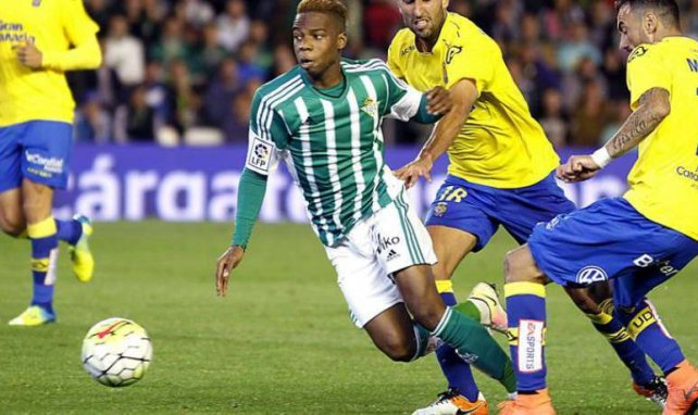 Charly Musonda sous les couleurs du Betis Séville en Liga