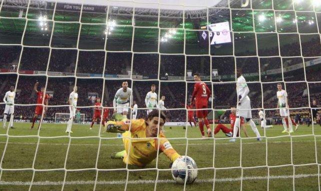 Contrairement aux apparences, Yann Sommer ne laissera pas rentrer le ballon dans son but