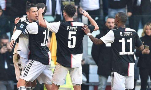 CR7 a inscrit les deux premiers buts de son équipe à l'Allianz Stadium