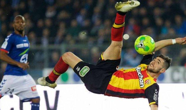 Cristian Lopez, l'attaquant espagnol qui flambe au RC Lens
