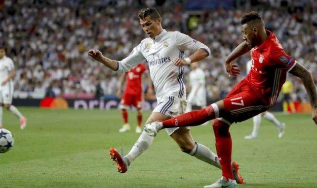 Cristiano Ronaldo et Boateng au coude à coude la saison passée