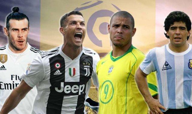 De Maradona à Ronaldo, en passant par CR7 et Gareth Bale, tous auraient pu briller un jour en Ligue 1