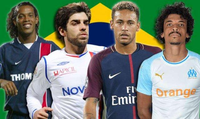 De nombreuses stars brésiliennes ont enflammé la Ligue 1