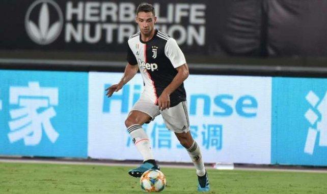 De Sciglio lors d'une rencontre avec la Juventus cet été