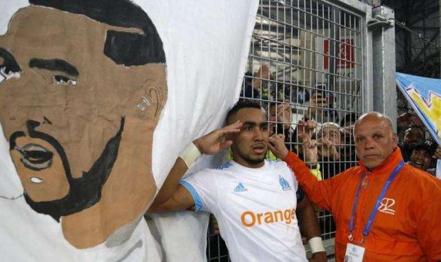 Dimitri Payet célèbre son but contre l'OGC Nice