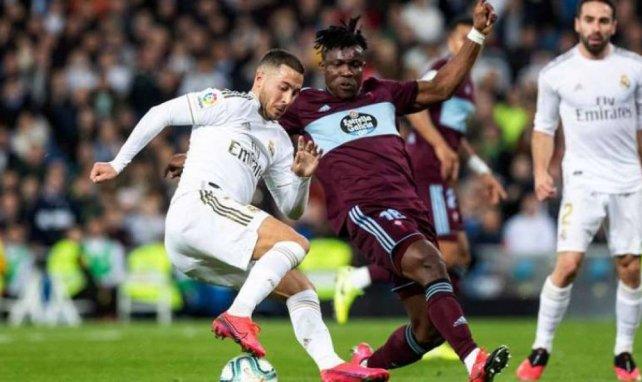 Eden Hazard et le Real Madrid tenus en échec par le Celta de Vigo