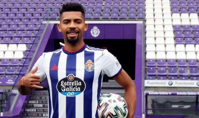 Fernandes lors de sa présentation à Valladolid cet hiver