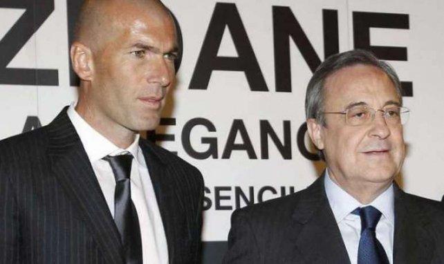 Florentino Pérez galère à trouver le remplaçant idéal de Zinedine Zidane