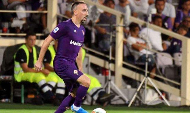 Franck Ribéry, ici sous le maillot de la Fiorentina, enchante tout son monde