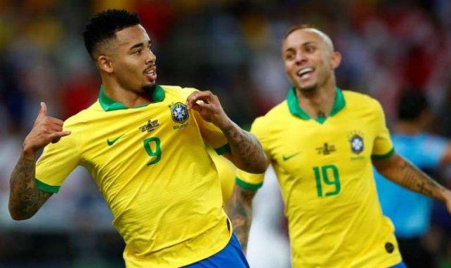 Gabriel Jesus et Everton ont marqué les deux premiers buts brésiliens dans cette finale