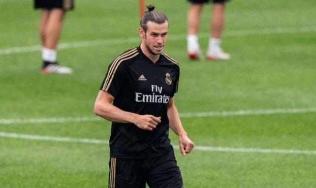 Gareth Bale lors d'un entraînement avec le Real Madrid