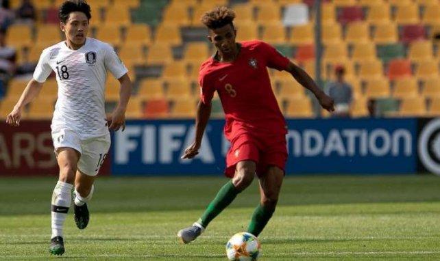 Gedson Fernandes sous le maillot du Portugal