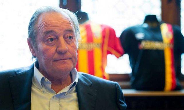 Gervais Martel, le président du RC Lens.