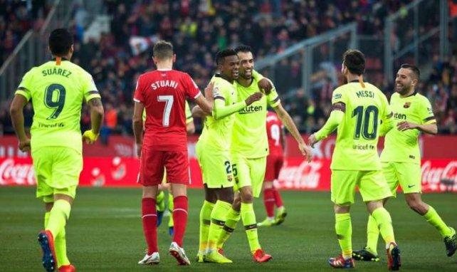 Girona a fait trembler le Barça en première période