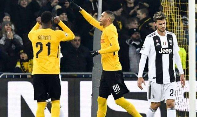 Guillaume Hoarau a inscrit un doublé face à la Juventus