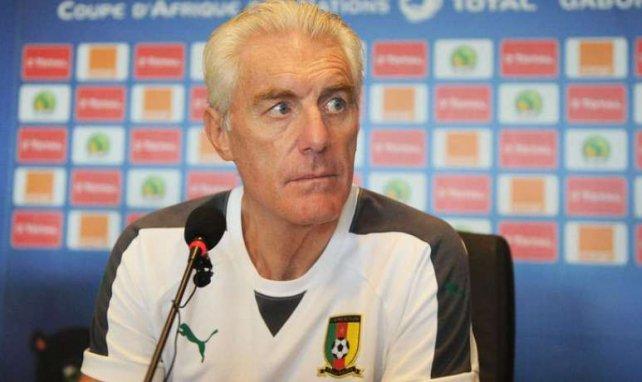 Hugo Broos, le sélectionneur du Cameroun, a totalement disjoncté lors d'une conférence de presse