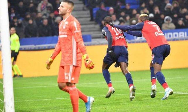 Ikoné vient de marquer le seul but du match face à l'OL