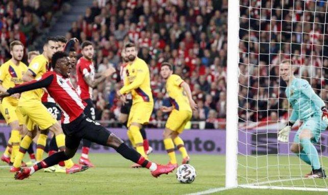 Inaki Williams et l'Athlétic Bilbao s'offrent le Barça