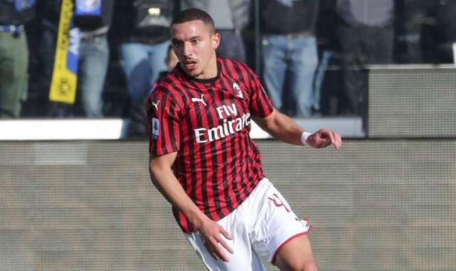 Ismaël Bennacer sous le maillot de l'AC Milan