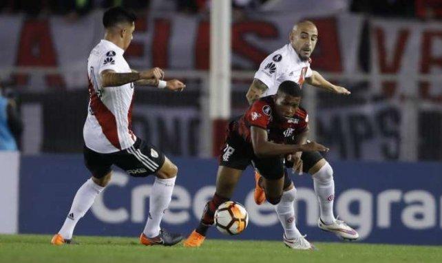 Jean Lucas (ici avec le maillot de Flamengo) va connaître sa première expérience européenne