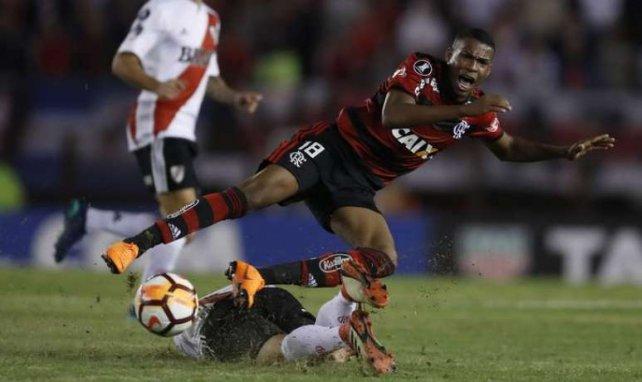 Jean Lucas, ici sous le maillot de Flamengo, est dans le viseur de l'OL