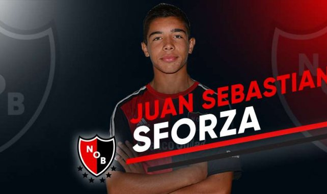 Juan Sebastian Sforza sous la tunique des Newell's Old Boys