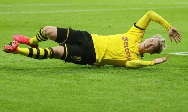 Julian Brandt avec le Borussia Dortmund