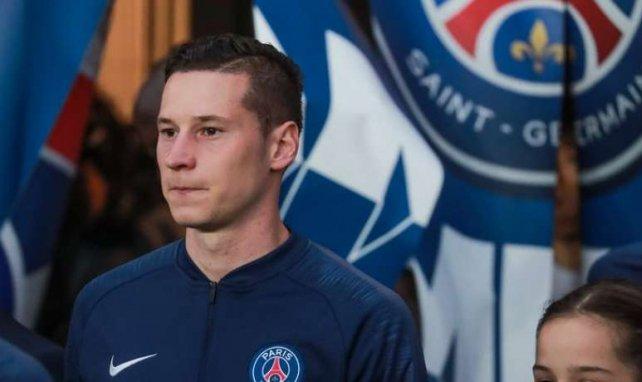 Julian Draxler juste avant la rencontre entre le PSG et Dijon