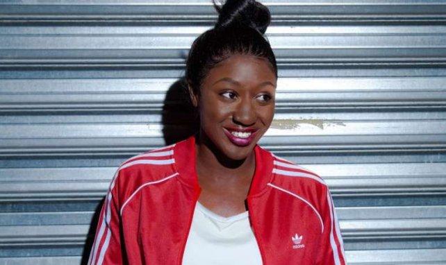 Kadidiatou Diani lors d'un event adidas