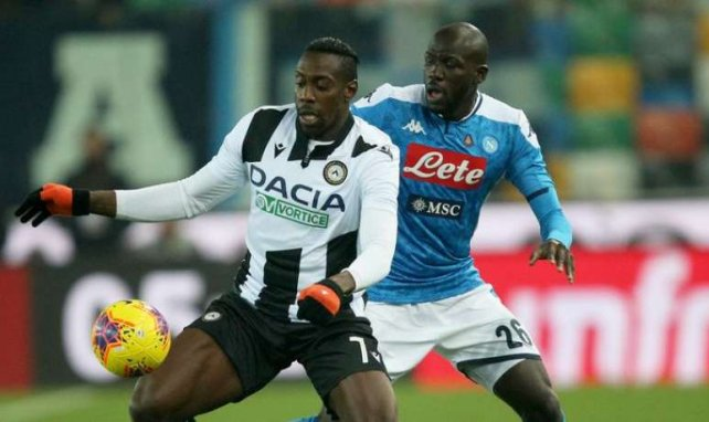 Kalidou Koulibaly avec Naples en championnat