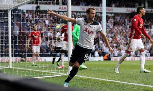 Kane a offert la victoire aux Spurs face à Manchester United