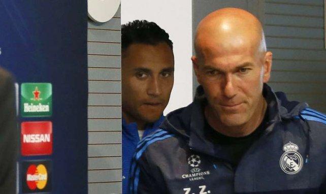 Keylor Navas tient à sa place au Real Madrid