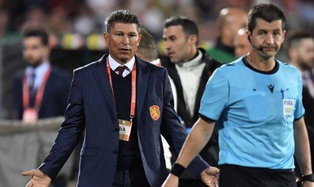 Krasimir Balakov étonné par les décisions de l'arbitre hier lors du match Bulgarie-Angleterre