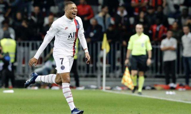 Kylian Mbappé a signé un triplé face au Club Bruges