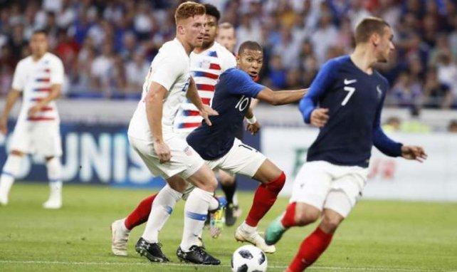 Kylian Mbappé et Antoine Griezmann mèneront l'équipe de France face à l'Australie