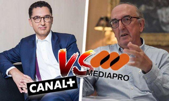 La guerre entre Canal Plus et Mediapro ne fait que commencer.