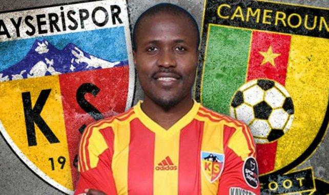 Landry Nguemo aujourd'hui à Kayserispor