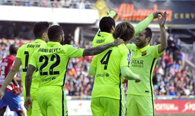 Le Barça tout sourire !