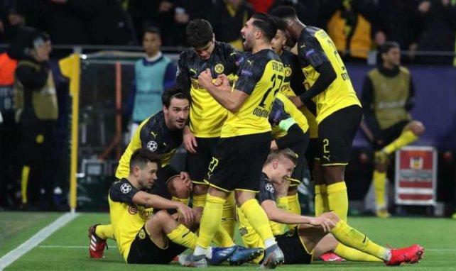 Le Borussia Dortmund en pleine célébration