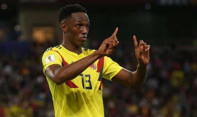 Everton : Yerry Mina plaît à Valence