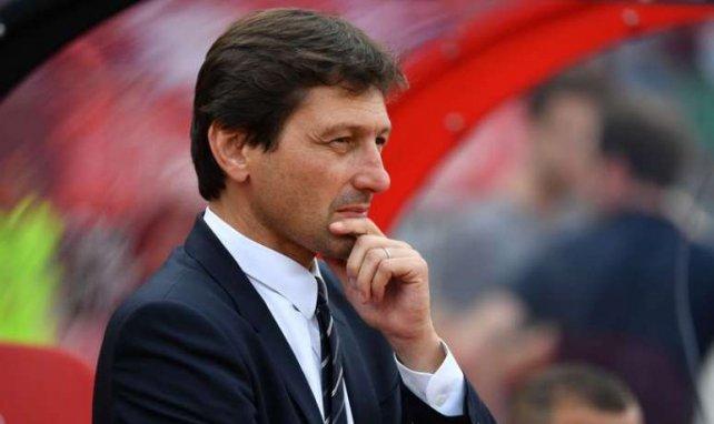 Le directeur sportif du PSG Leonardo lors du match amical contre Nuremberg